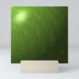 grass sphere Mini Art Print