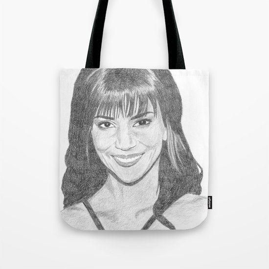 Halle Berry Tote Bag