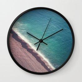 Beach Aerial II Wall Clock