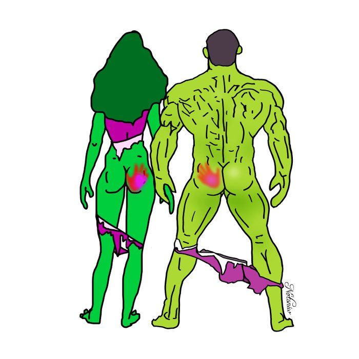 Superhero Butts Love 5 - Green Comforters