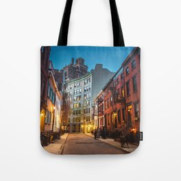 Twilight Hour - West Village, New York City Tote Bag
