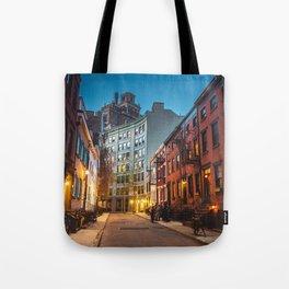 Twilight Hour - West Village, New York City Tote Bag