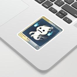 Mtg Spirit token Sticker