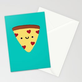 Pizza My Heart Stationery Cards