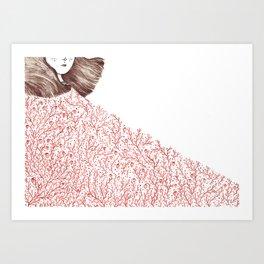 Strawberries for Elsie Art Print