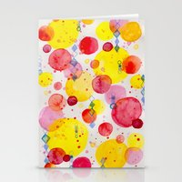 60s Stationery Cards featuring Party 60s by Gabrielle LR illustration