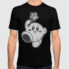 Kirby's Dream Land LARGE Mens Fitted Tee Black