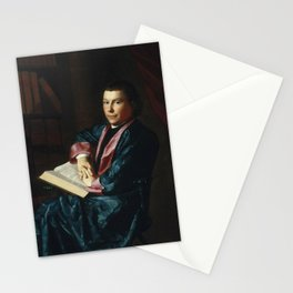 John Singleton Copley - Reverend Thomas Cary of Newburyport Stationery Cards