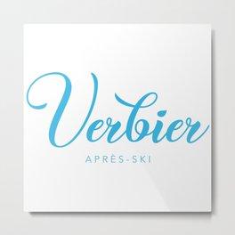 VERBIER Metal Print