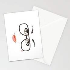 Hipster Eyes 3 Stationery Cards