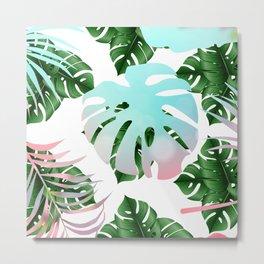 Tropical Mint Metal Print