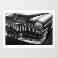 car Art Prints featuring Car by Kathleen Stephens