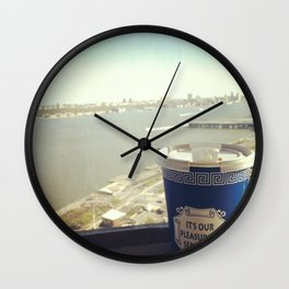 I'm on Break Wall Clock