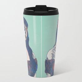 Day of the Dead illustration Travel Mug