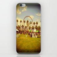 coachella iPhone & iPod Skins featuring Coachella by Jason Chase