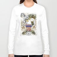 army Long Sleeve T-shirts featuring army by LoriDiamondArt