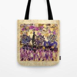 Petals As Paint - Purple Passion Tote Bag