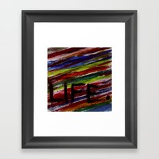 Life by KPD (Stretched) Framed Art Print