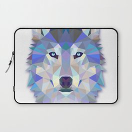 Colorful Wolf Laptop Sleeve