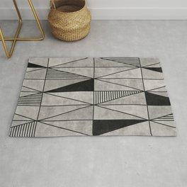 Concrete Triangles Rug