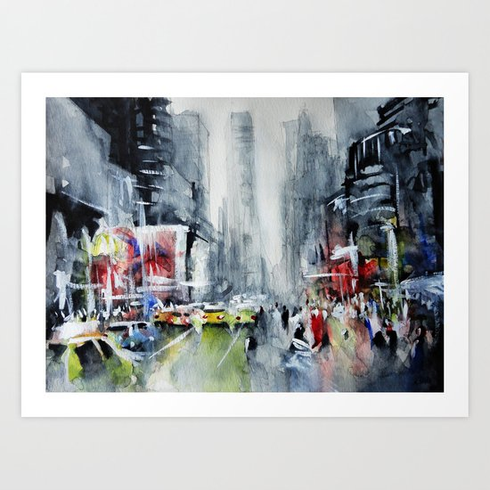 New York - New York Art Print