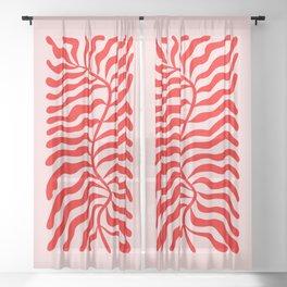 Funky Herbs: Matisse Edition Sheer Curtain