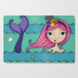Jewel the Mermaid Cutting Board