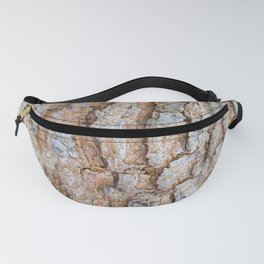 Pine bark textures Fanny Pack