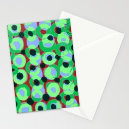 Circles and Dots Stationery Cards