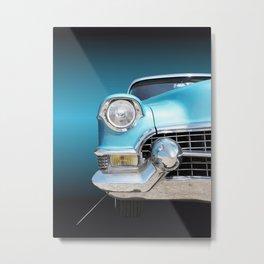 US American classic car 1955 series 62 Metal Print