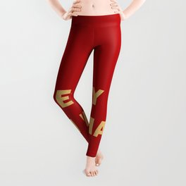 I'm on fire. phrase in Spanish that indicates sexual heat Leggings