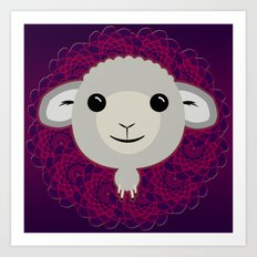 Big Sheep Art Print