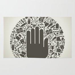Arts a hand Rug