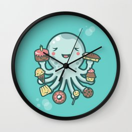Room for Dessert? Wall Clock
