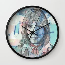 Roger Waters - More Blues Wall Clock