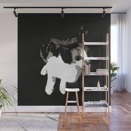 Beware the Demon Cat Wall Mural