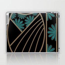 ART DECO FLOWERS (abstract) Laptop & iPad Skin
