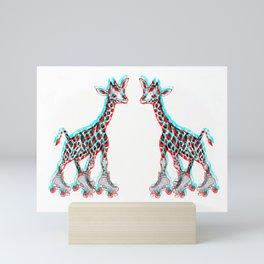 Just Roll With It (3D) Mini Art Print
