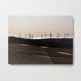 Windmill Ridge Metal Print