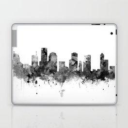 Houston Skyline Black and White Laptop & iPad Skin