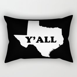Texas Yall Rectangular Pillow