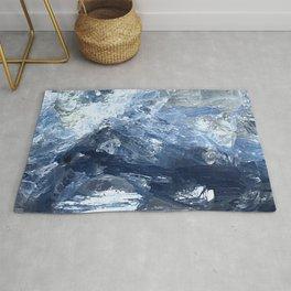 Blue Kyanite Crystal Rug