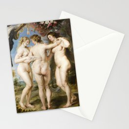 The Three Graces by Peter Paul Rubens, 1635 Stationery Cards