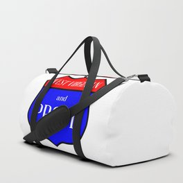 West Virginian And Proud Duffle Bag