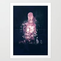 ufo Art Prints featuring Ufo by Marc González
