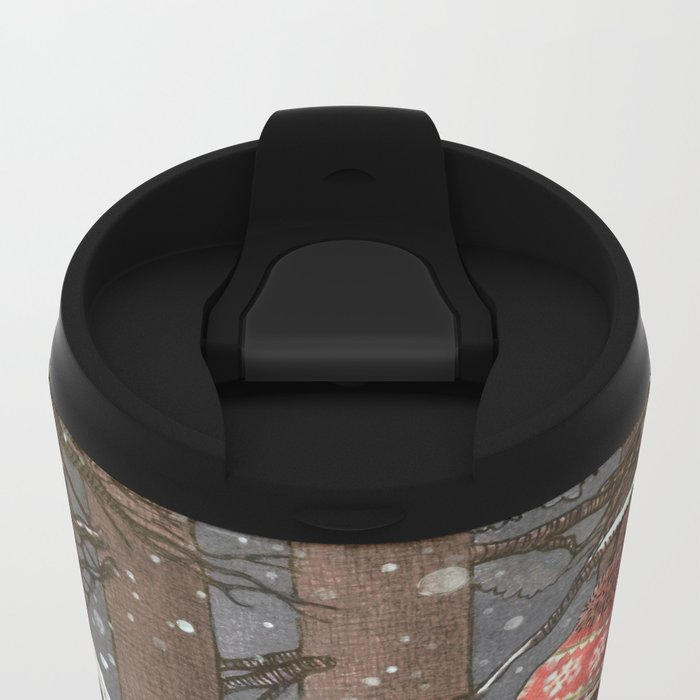 Everyone Gets Cold Metal Travel Mug