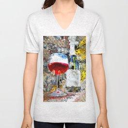 Wine Art Unisex V-Neck