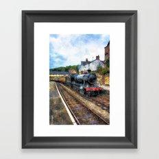 Steam Train Journey Framed Art Print