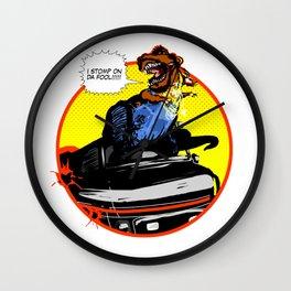 Mr. T(Rex) Wall Clock