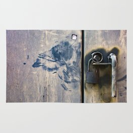 Locked Up / Photography Print / Photography / Color Photography Rug